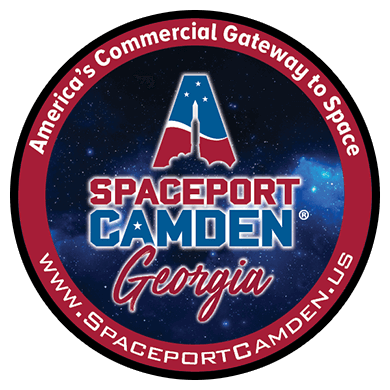 Spaceport Camden Georgia's Logo | America's Commercial Gateway to Space